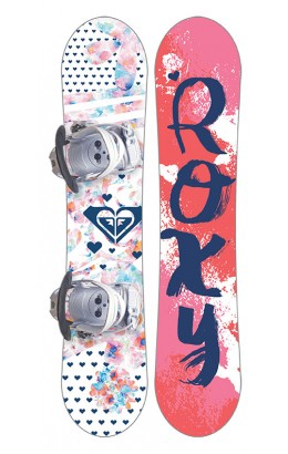 ROXY Poppy Youth Package Board & Binding 80 RKR 17/18