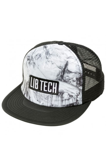 Lib-Tech Zim Photo Truckers Hat White 17/18