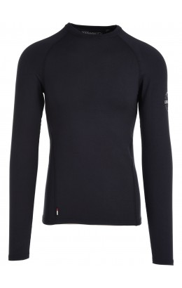 Surfanic Bodyfit Layer Men's Crew Neck Black 18/19