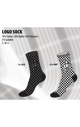 Lib-Tech Logo Crew Sock Black 19/20