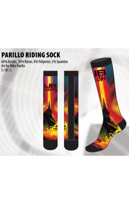 Lib-Tech Parillo Riding Sock Red 19/20