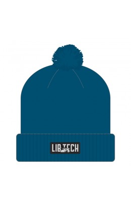 Lib-Tech Kraftsmen Pom Beannie Blue 17/18