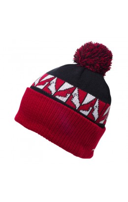 GNU Headspace Pom Beanie Red 18/19
