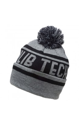 Lib-Tech Pom Beanie Charcoal 19/20