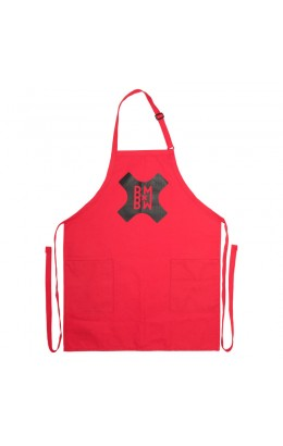 Bent Metal Chop Shop Apron Red