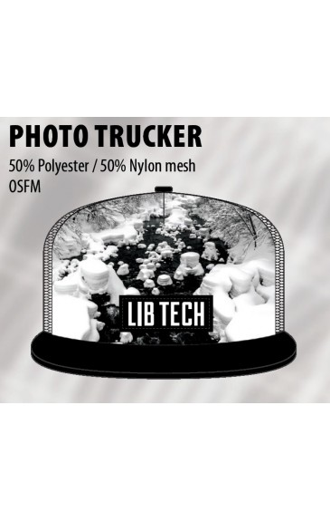 Lib-Tech Zim Photo Trucker White 19/20