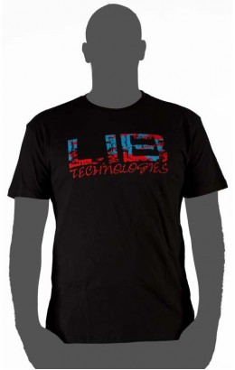 Lib-Tech Logo Short Sleeve Black